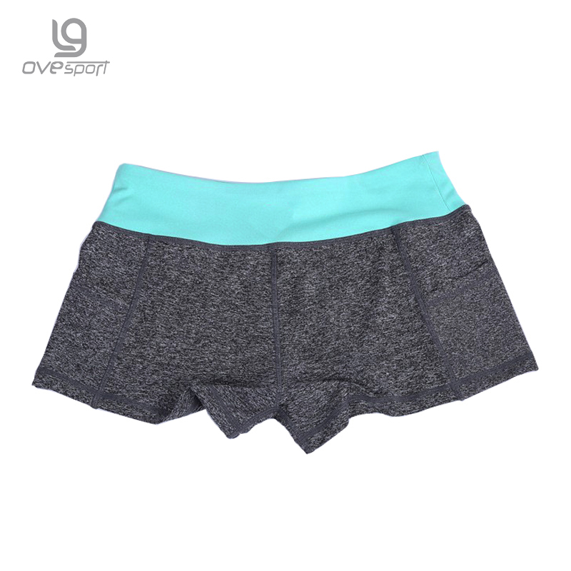 Summer  11 colors gym running yuga sports high waist shorts Women short femme  feminino quick dry and Absorb Sweat 2030