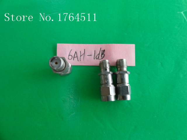 [BELLA] INMET 6AH-1dB DC-6GHz Att:1dB P:2W SMA Coaxial Fixed Attenuator  --3PCS/LOT