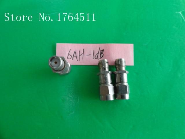 [BELLA] INMET 6AH-1dB DC-6GHz Att:1dB P:2W SMA Coaxial Fixed Attenuator  --3PCS/LOT