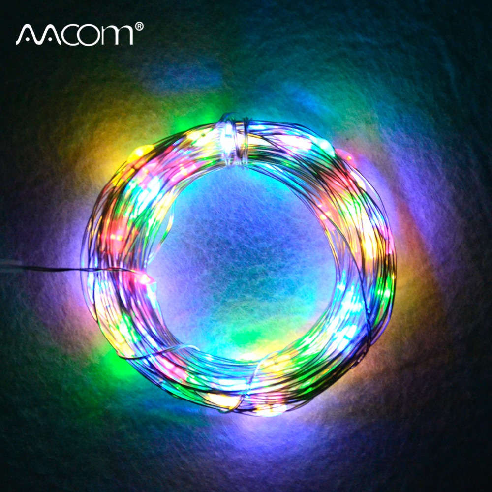 Key Arena Christmas Lights: Aliexpress.com : Buy 10M RGBW LED Christmas String Lights
