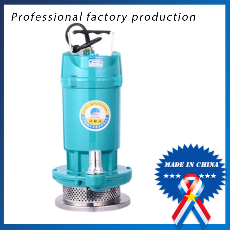 QDX1.5-14-0.37 220v50hz 1/2hp Agricultural Sewage Pump Submersible Pump marine sewage pump reorder rate up to 80% stainless sewage pumps submersible sewage pump