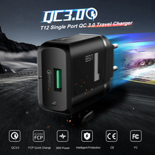 ROCK T12 Single Port QC3.0 Travel Charger