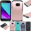 For Samsung Galaxy X Cover 4 Case Dual Layer Hybrid Armor Case Shockproof TPU+Hard PC Cover For Samsung Galaxy Xcover 4 G390F @