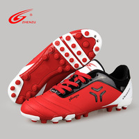 Popular style of young men's lawn turf football shoes professional competition short nail bottom.