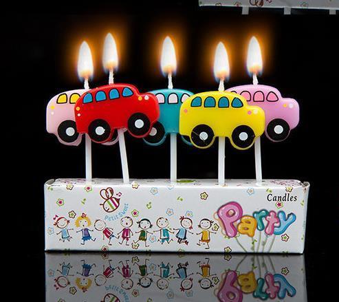 Us 101 15 Off1 Set Mobil Pesawat Kartun Ulang Tahun Anak Anak Kuekue Cupcake Toppers Pesta Ulang Tahun Kreatif Kue Ulang Tahun Lilin