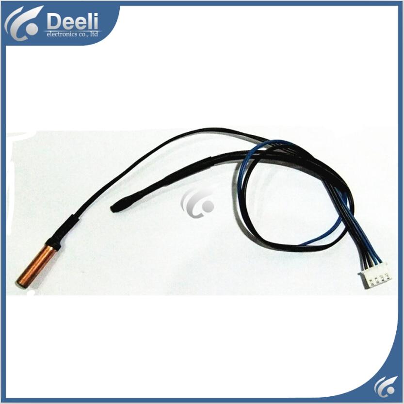 все цены на 50pcs for Haier Air Conditioner Tube Sensor Ambient Sensor Air temperature sensor air conditioning thermal head 10K 23K онлайн