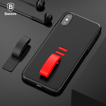 Baseus Lovely Creative Little Tail Case For iPhone X Full Coverage Silicone Anti Knock Case For iPhone X Coque Back Cover