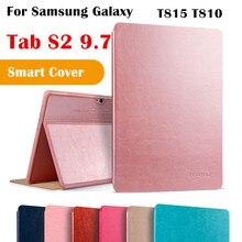 KAKU Cubierta Del Tirón Para Samsung Galaxy Tab Tab S2 9.7 Magent S2 9.7 T810 SM-T815 T815 Tablet Caso Elegante de la Cubierta Protectora shell