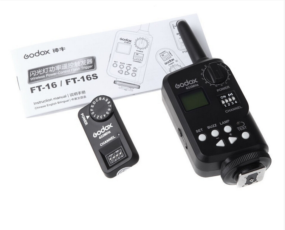 Здесь можно купить   A012 Godox Wireless Control Flash Trigger FT-16S for Godox VING V850 V860C V860N with 3 Receivers Бытовая электроника