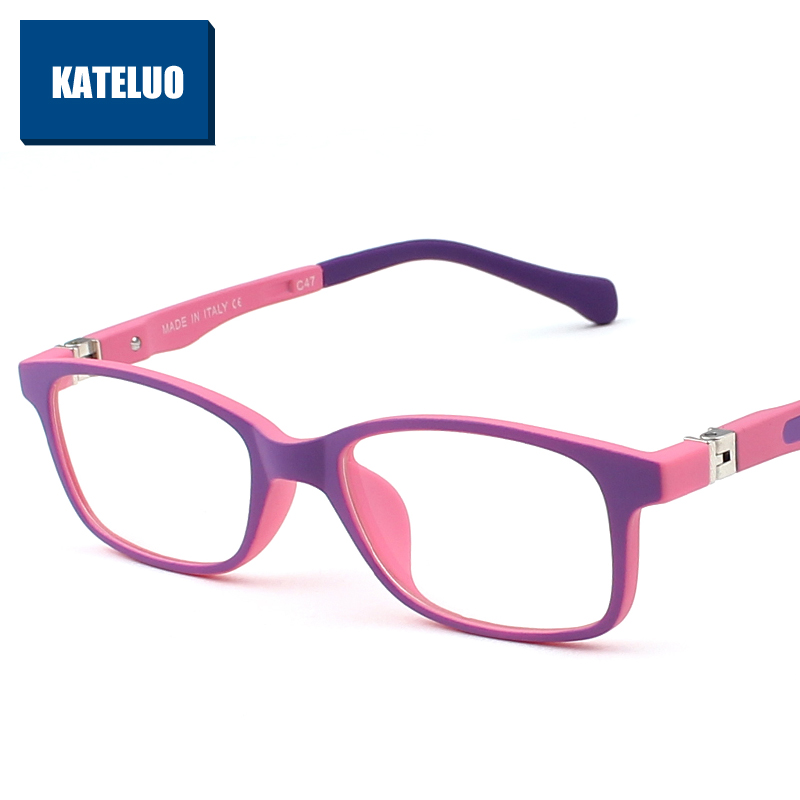 TR90 Children's Anti Computer Blue Laser laser Fatigue Radiation-resistant Kids Eyeglasses Goggles Glasses Frame Children F1021