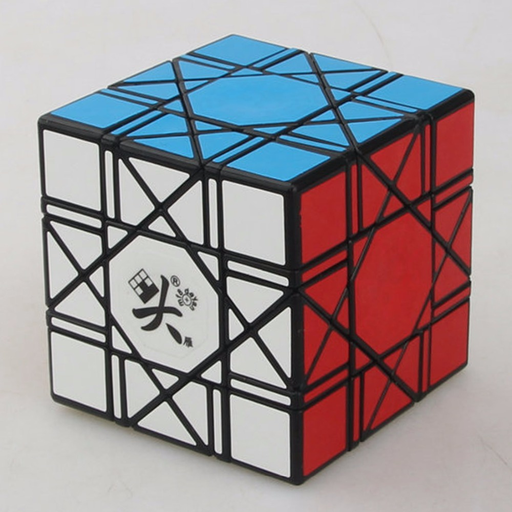 DaYan Bagua Magic Cube 6 Axis 8 Rank Cube Puzzle Cubo Magico Educational Toy Speed Puzzle Cubes Toys for Kid Child Free Shipping educational toys mirror cube maze classic magnetic cube toy magic cube puzzle cups toys for children 601558