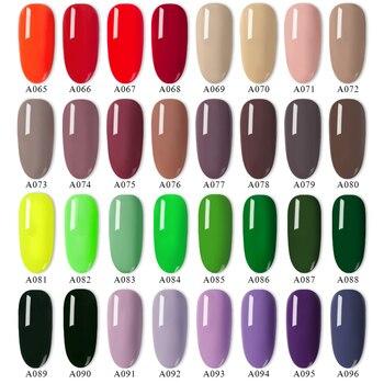 RBAN NAIL Gel Nail Polish Gel Varnish Paint Semi Permanent Nails Art Gel Nail Polish For Manicure Gellak Top Coat Hybrid Primer 2