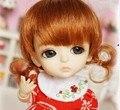 JD199 3-4 дюймов крошечная кукла парики Из Синтетических мохер BJD парик близнеца пони парик
