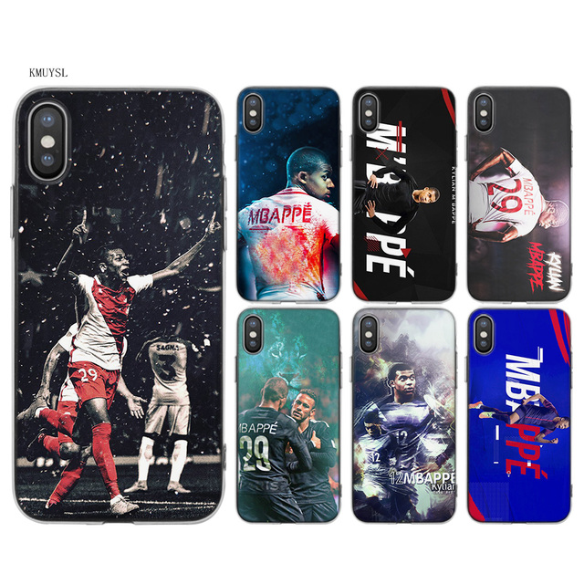 iphone x coque mbappe