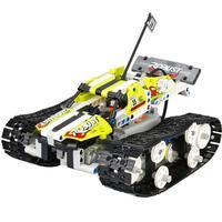 May baby #50 DIY Kit R/C 120 in 1 Race Cars Building Bricks Radio Control Racing Toy