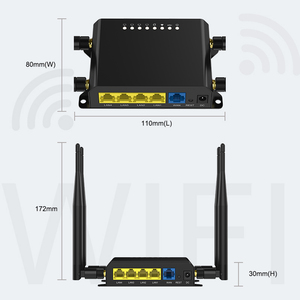 Image 5 - M2m 3g 4g Lte Modem Router Wifi mobile router 12v With Sim Card Slot Firewall VPN Router Wireless 300Mbps  128MB Openwrt
