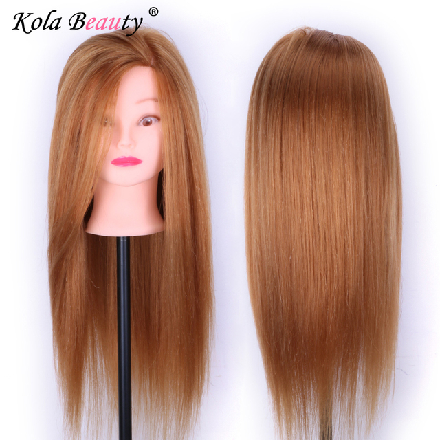 Professional Hair Styling Head Manikin With Human Hairdressing Mannequins 80 Real Mannequin