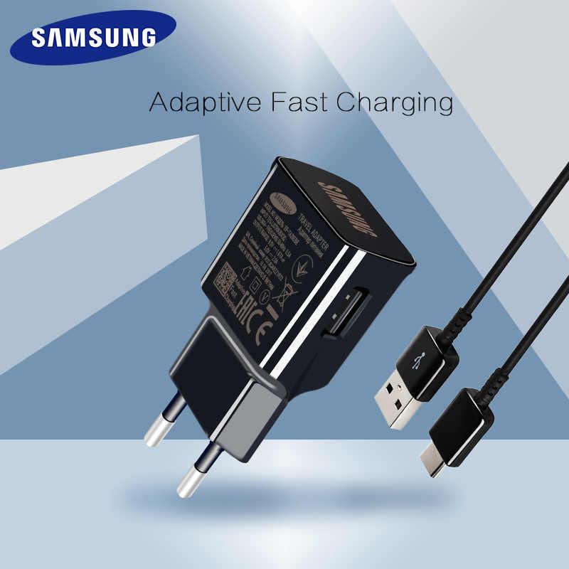 Samsung Galaxy note9 S9 плюс быстрое зарядное устройство Быстрая зарядка 9 В 1.67a и 5v2a путешествия зарядки адаптер Note8 C5 C7 C9pro S8 плюс