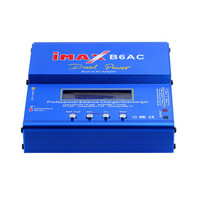 iMAX B6 AC 80W B6AC Lipo NiMH 3S/4S/5S RC Battery Balance Charger + EU US AU UK plug power supply wire