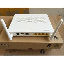 Free shipping Original  Hua wei HG8546M  Gpon ONU with 4FE+Voice+WIFI+USB Port English software Telecom Network Equipment