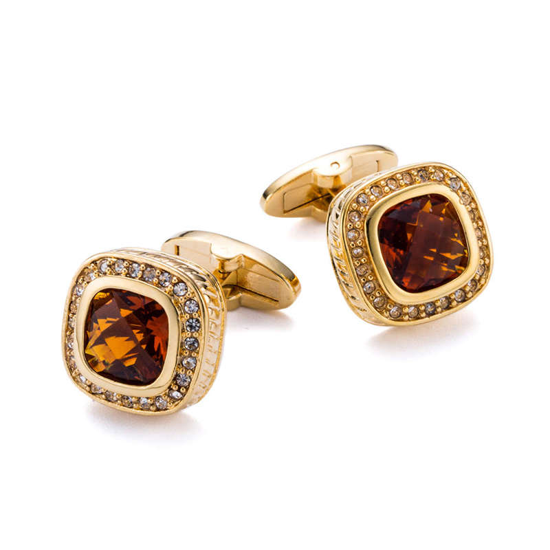 Fashion Gold Plating Tle Clips And Cufflinks Black Painting Rhinestone Cufflings For men Fathers day Gifts 163cFashion Gold Plating Tle Clips And Cufflinks Black Painting Rhinestone Cufflings For men Fathers day Gifts 163c