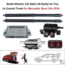 Smart Auto Electric Tail Gate Lift for Mercedes Benz Vito 2016 Control Set Height Avoid Pinch smart auto electric tail gate lift for hyundai ix35 control by remote drive seat tail gate button set height avoid pinch