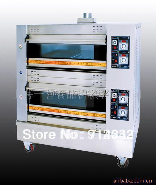 FUEL LPG 2 Layers 4 pans gas oven Gas baking oven 2 4pans