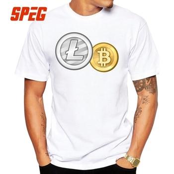 T-Shirt Litecoin and Bitcoin