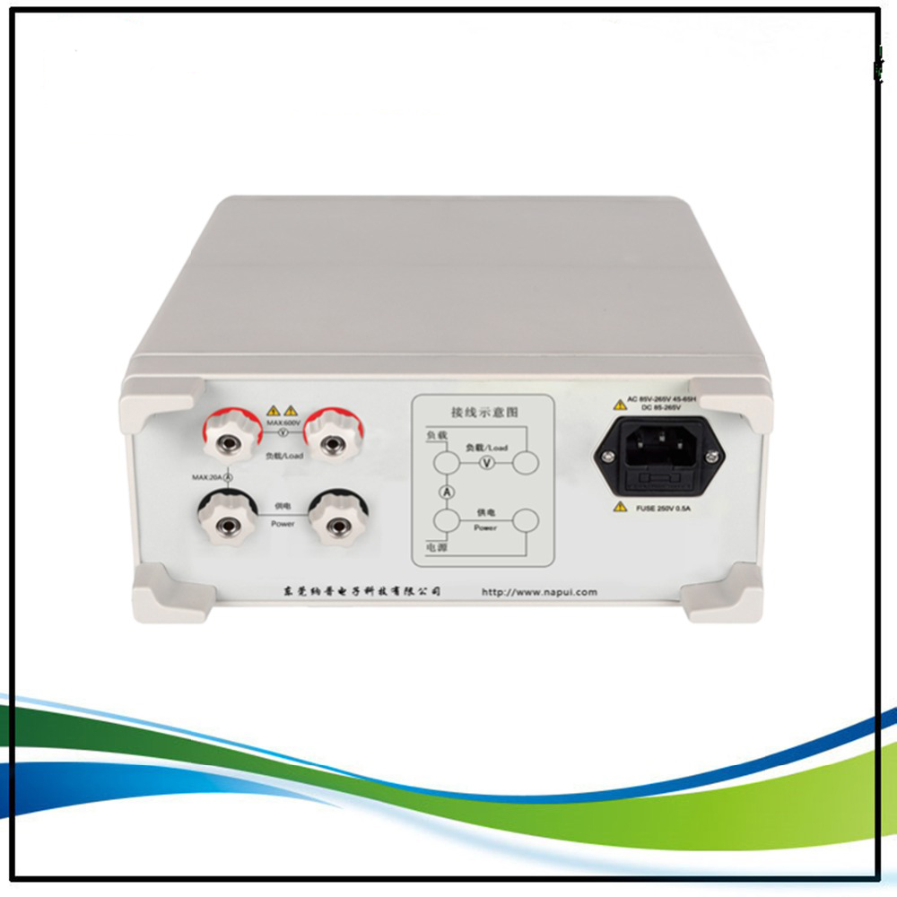 Fast arrival PM9800 NEW BRAND ACVoltage Current Power Factor & Power Meter Tester Perfect replacement PF9800,600V,20A