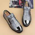 Crocodile men shoes hairstylist shoes lazy pedal Carrefour young men doug shoes genuine loafers flats