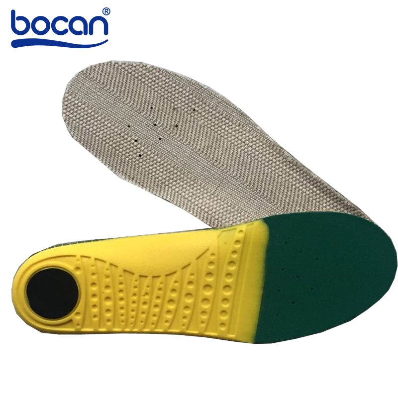 Bocan Insoles for shoes shock absorptions orthopedic insoles Light Weight breathable insoles for men women bocan insoles for sport shock absorption orthopedic shoe insoles light weight breathable for men women