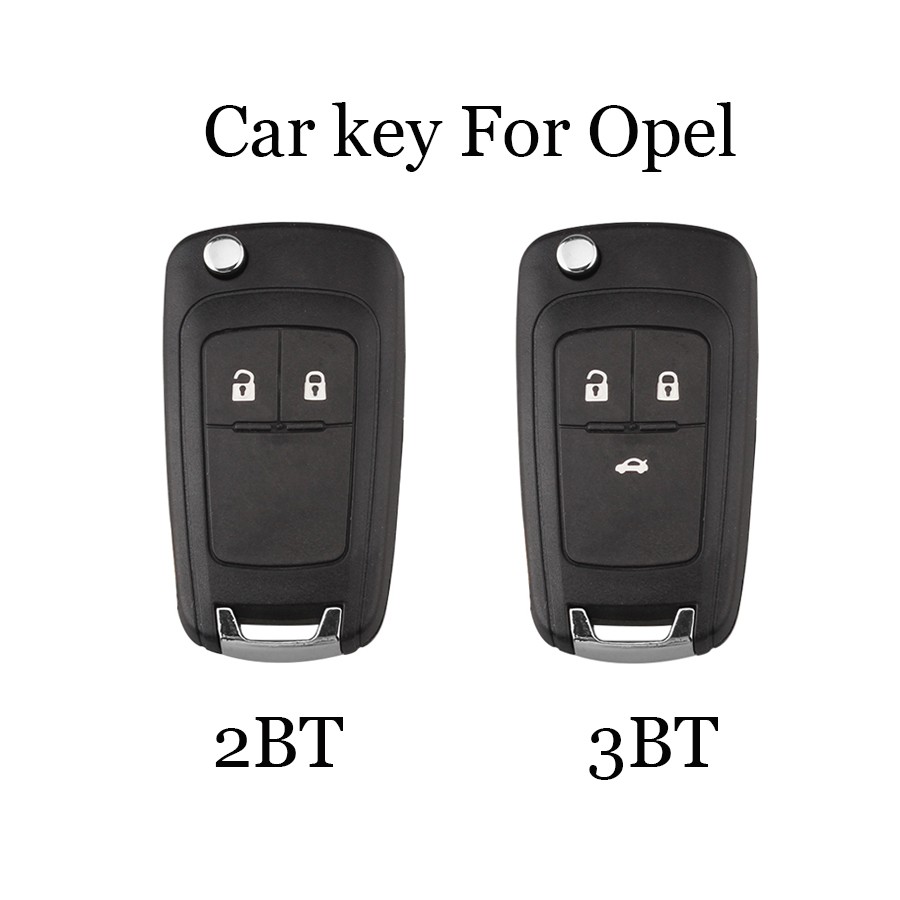 2/3 Buttons Flip <font><b>Key</b></font> Shell Case fit For <font><b>Opel</b></font> Vauxhall <font><b>Astra</b></font> H Insignia J Vectra C Corsa D Zafira <font><b>G</b></font> <font><b>Remote</b></font> <font><b>Key</b></font> shell HU100 Blade image
