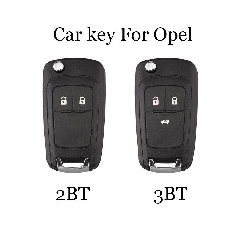 Carcasa Shell y Llave Control Remoto 2 Botones Opel Astra J Vectra Insignia
