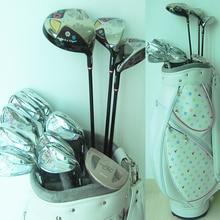 Cooyute New Women Golf clubs Maruman FL Complete Sets Golf Driver+wood+irons+Putter+Bag Graphite Golf shaft Free shipping