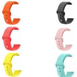 22 мм ремень для samsung Galaxy часы 46 мм Шестерни 2 S3 live Neo Ticwatch 1 спортивный ремешок силиконовый xiaomi huami amazfit 2 1 ремень