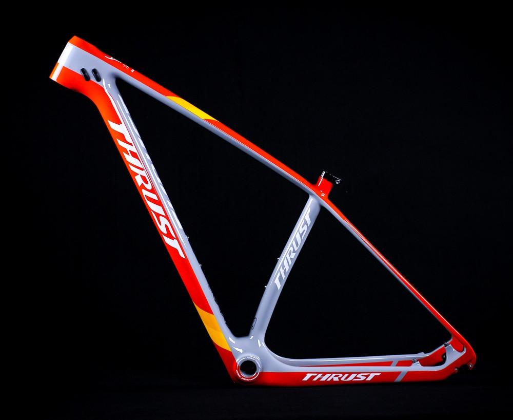 THRUST T1000 Carbon Frame 29er 27 5er Mountain Bike Frame Carbon Fiber Chinese Bicycle Frame mtb