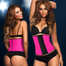 5d24198665 ZYSK Latex Waist Trainer Slimming Belt Cincher Corset Modeling Strap  Colombian Girdle Body Shaper Tummy Control