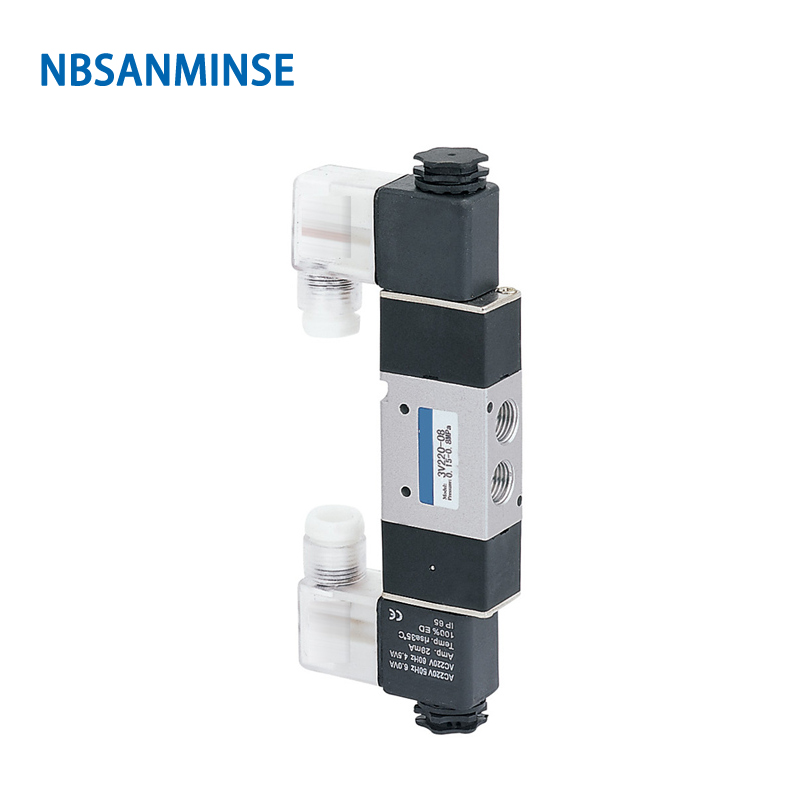 3v220 08 Airtac Type 3v Series Solenoid Valve 3v 2 Position 3 Way Control Valve Double Solenoid&Position Nbsanminse
