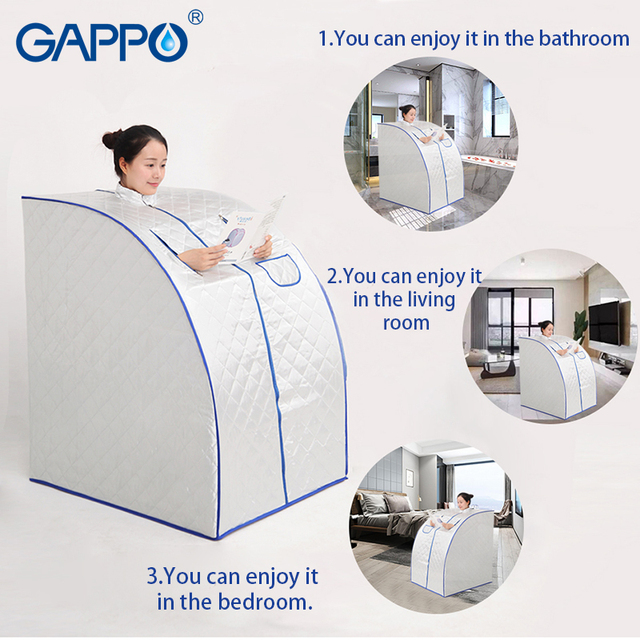 GAPPO Steam Sauna portable sauna room Beneficial skin infrared Weight loss Calories bath SPA with sauna bag