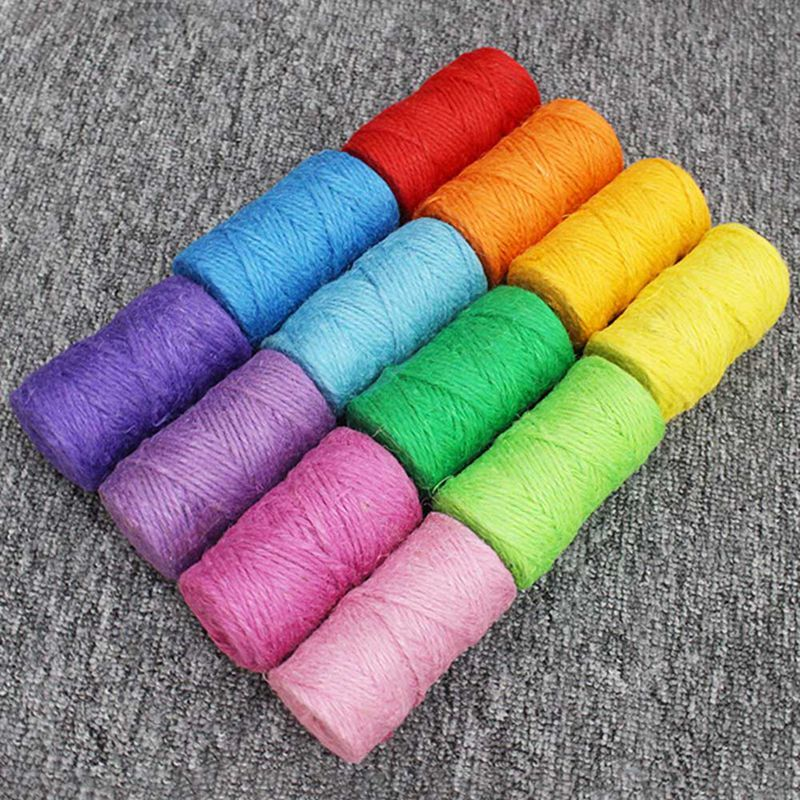 Hemp Rope Of 4mm Diameter For Cat Tree, Cat Climbing Frame Diy, Hemp  Rope Only, 12 Colors Available Now