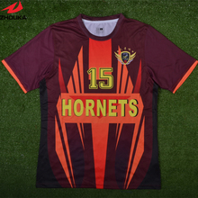 Maroon Color Jersey Customizing ,Zhouka Sublimation printing make your colors,logos,personal name and number