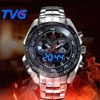 TVG Men Watches Men Sports Watches LED Digital 30M Waterproof Casual Watch S Shock Male Clock 468 relogios masculino Watch Man