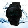 1 PCS Digital Led Relógio para Homens Relógio de Silicone À Prova D' Água Homens Relógio de Pulso Militar Esportes Relógios Digitais-assistir o Transporte Da Gota
