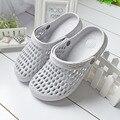 Envío Libre Sólido Hombres Zapatos Del Jardín de Playa Transpirable Zapatillas Antideslizante HSA22