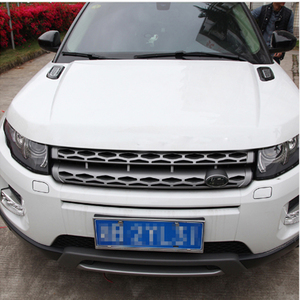 Image 5 - Car Accessory For Land Rover Discovery Sport LR4 For Range Rover Evoque Vogue Hood Air Vent Outlet Wing Trim Stickers 2pcs