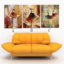 100% ручная роспись домашнего декора ручной росписью стены искусства балета абстрактные картины маслом Выбрать сочетание A-B-C-D-E-F-G-H-I DM-918009