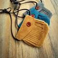 JC KIDS 10pcs/lot Kids Tassel Bag Baby Matte PU Tassel Bag Girls Small Coin Purse Handmade Bag For Children