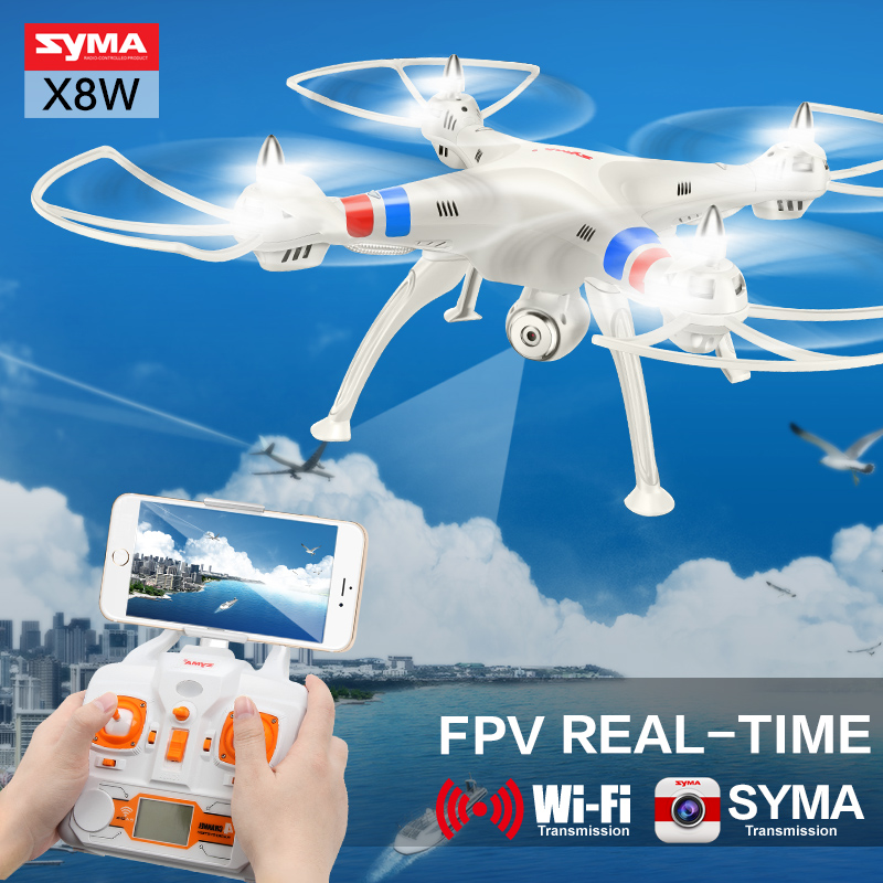 Syma RC Drone X8W X8C RC Helicopter Drone with Camera 2 4G 4CH 6 Axis Remote