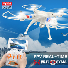 Syma RC Drone X8W X8C RC Helicopter Drone with Camera 2.4G 4CH 6 Axis Remote Cotrol Quadcopter Headless 360 Degree Rolling