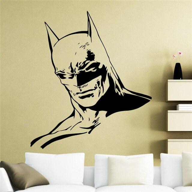 Batman Handsome Art Wall Decals Home Livingroom Special Cool Decor ...